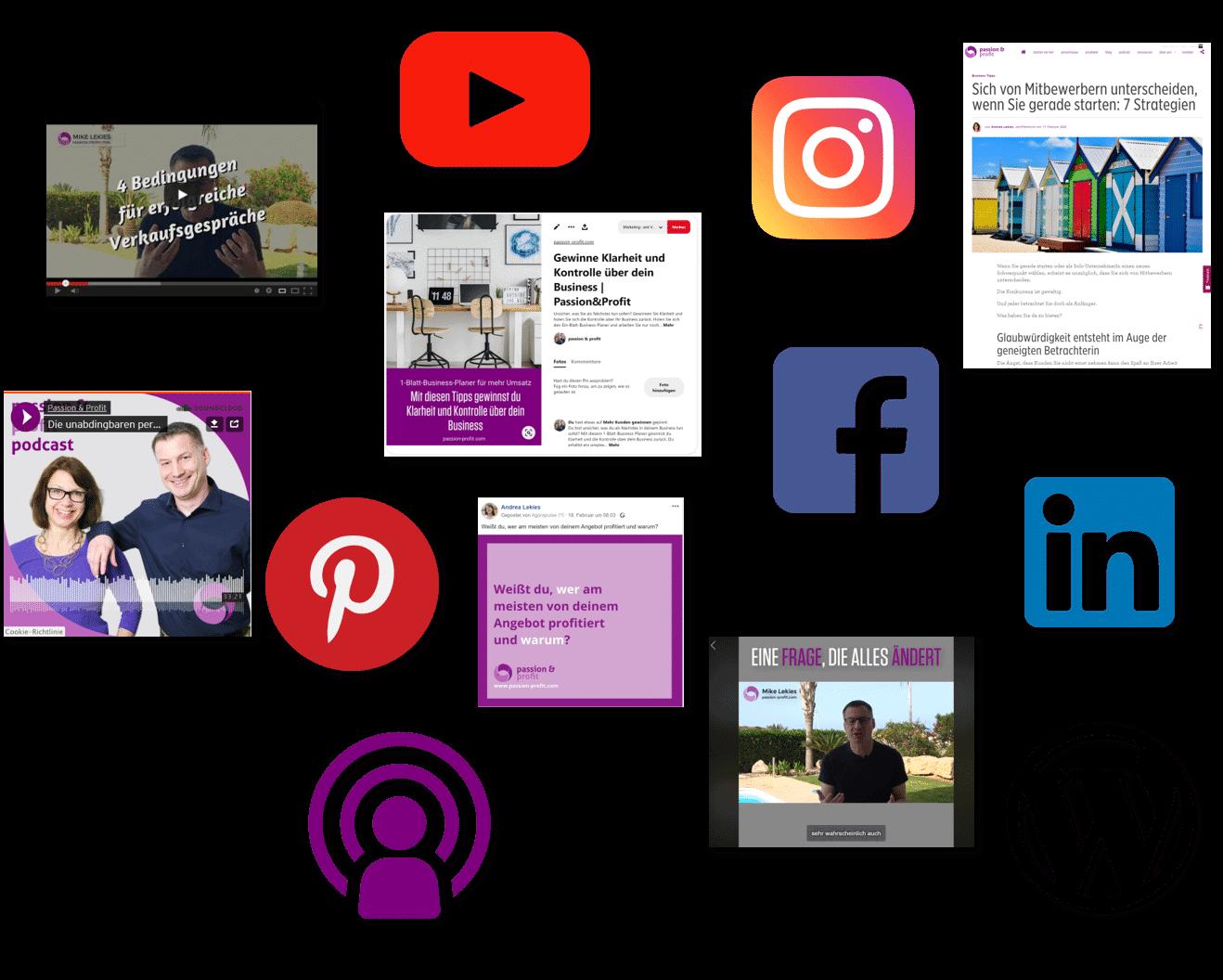 Wir zeigen Ihnen, wie Sie aus einer Idee viele Content-Teile erstellen, die alle ihr eigenes Gesicht haben